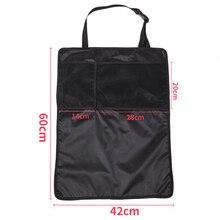 Автомобильный органайзер для заднего сиденья сумка для хранения водонепроницаемый защитный чехол для заднего сиденья автомобиля B88
