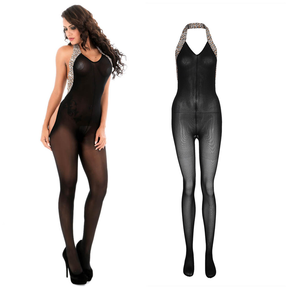 Sexy Body Suit Transparent Erotic Catsuit Bodystocking Costumes Teddy Lingerie Fetish Underwear Fishnet Bodysuit Body Stocking