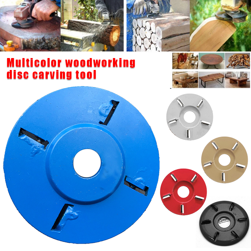 2019 Hot Sale Arc/Flat Teeth Wood Turbo Carving Disc Milling Cutter Tools For Angle Grinder J8 #3