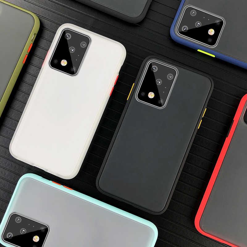 Fosco caso de Telefone Difícil Para Samsung S20 S10e S8 S9 S10 Nota 8 9 10 A70 A50 A30 A20 A10 A20E A51 A71 A81 A91 S10 Nota 10 cobertura Lite