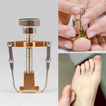 Encarnadas Corrector para uñas de los pies de pedicura dispositivo para arreglar las uñas de los pies cuidado de las uñas del pie ortopédico de acero inoxidable TRATAMIENTO DE Onyxis juanete herramienta de corrección