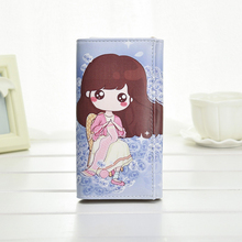 Cute Girls Coin Purse Fashion Women Wallets Lady Purses Pocket Clutch Long Moneybags Handbags Cards ID Holder Female Wallets phone wallet new arrival women wallets high quality female long purse lattice women s coin wallet lady clutch cell phone pocket big promotion