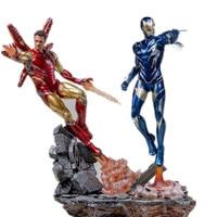 Avengers 4 Endgame Iron man Pepper Potts MK85 Statue PVC Action Figures Model Toy Avangers 4 Movie Super hero IronMan Diorama