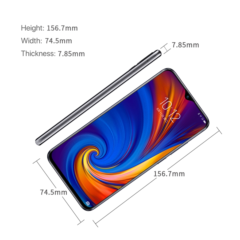 Image 5 - Lenovo Z5S 6GB 64GB 128GB with gift 6.3 inch Smartphone Z5 s Triple Rear Camera cellphone Snapdragon 710 Android P Global ROM