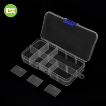 Plastic Storage Box Make Up Cosmetic Organizer Container Rectangular Transparent Multifunctional Component Accessory 2019New