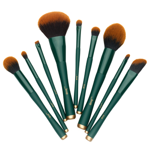 Image 5 - Jessup brush Makeup brush Trekking Green Powder Eyeshadow Concealer Foundation Make up brushes Rubber coated Synthetic hair