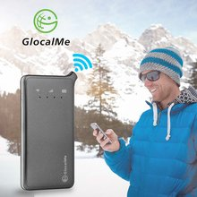 Купить с кэшбэком GlocalMe U2 Mobile Wifi Hotspot Portable Wifi 4G Router 100+ Countries Coverage Free Roaming Sim Card Free
