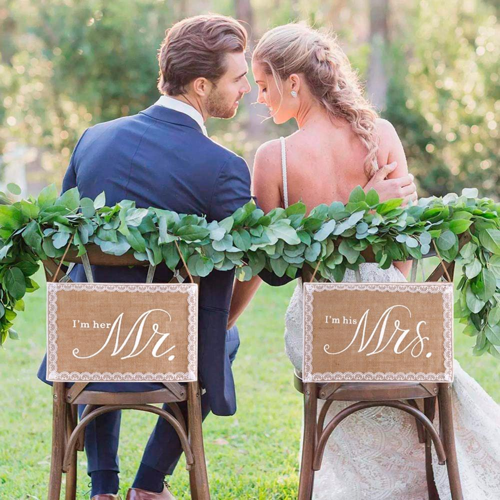 Mr Mrs Wedding Photo Booth Props Love Weeding Decoration For Weddings Photobooth Props Rustic Wedding Photo Decor Just Married