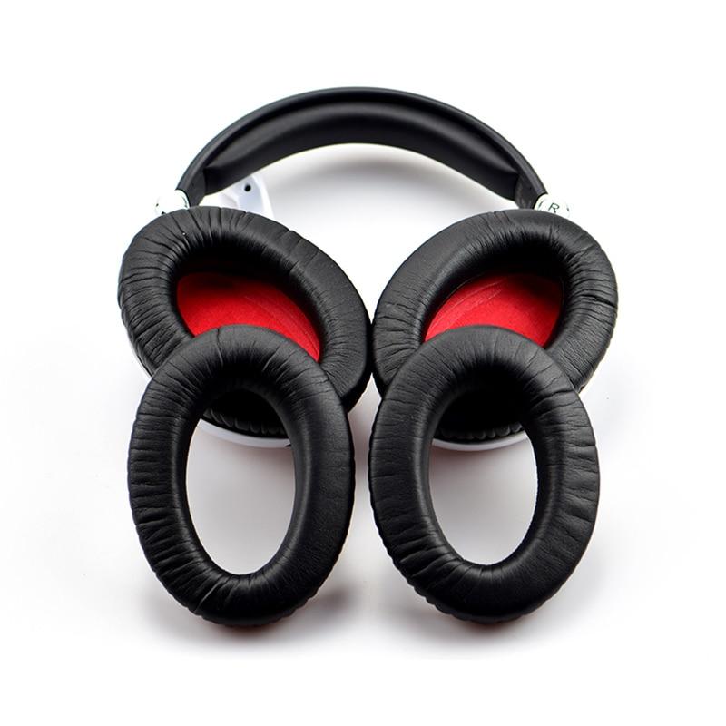 LEORY 1 Pair Ear Pads Cushion Replacement For Sennheiser G4ME ZERO HD515 HD518 HD555 HD558 HD595 Headphone PU Leather Earpads