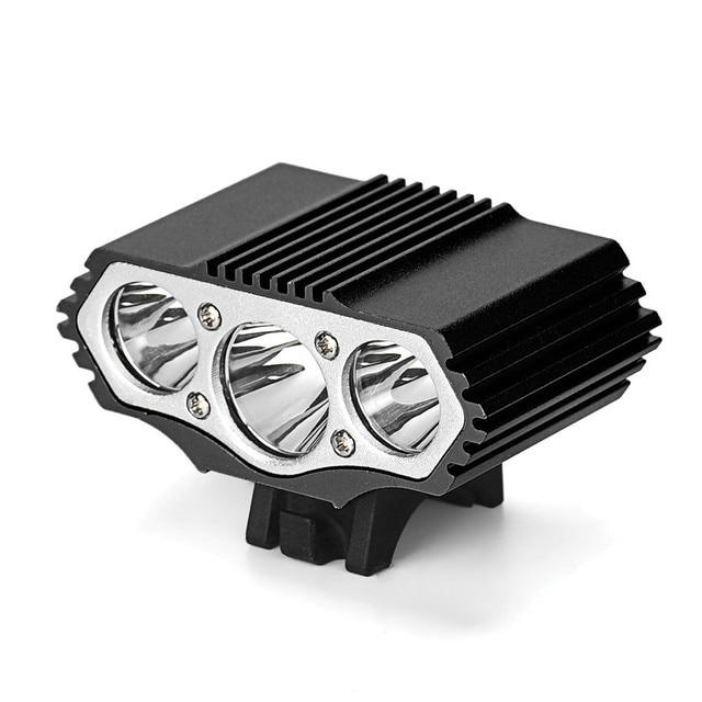 12000 Lm 3 x XML T6 LED 3 modos lámpara de bicicleta Luz de bicicleta linterna para bicicleta MTB accesorios de bicicleta de montaña accesorios de ciclismo