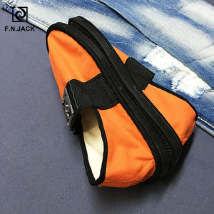 Image 5 - F.N.JACK Espadrill Massage Insole Mens Flats Canvas Smart Casual Rubber Sole Solid Sapato masculino tenis Masculino adulto