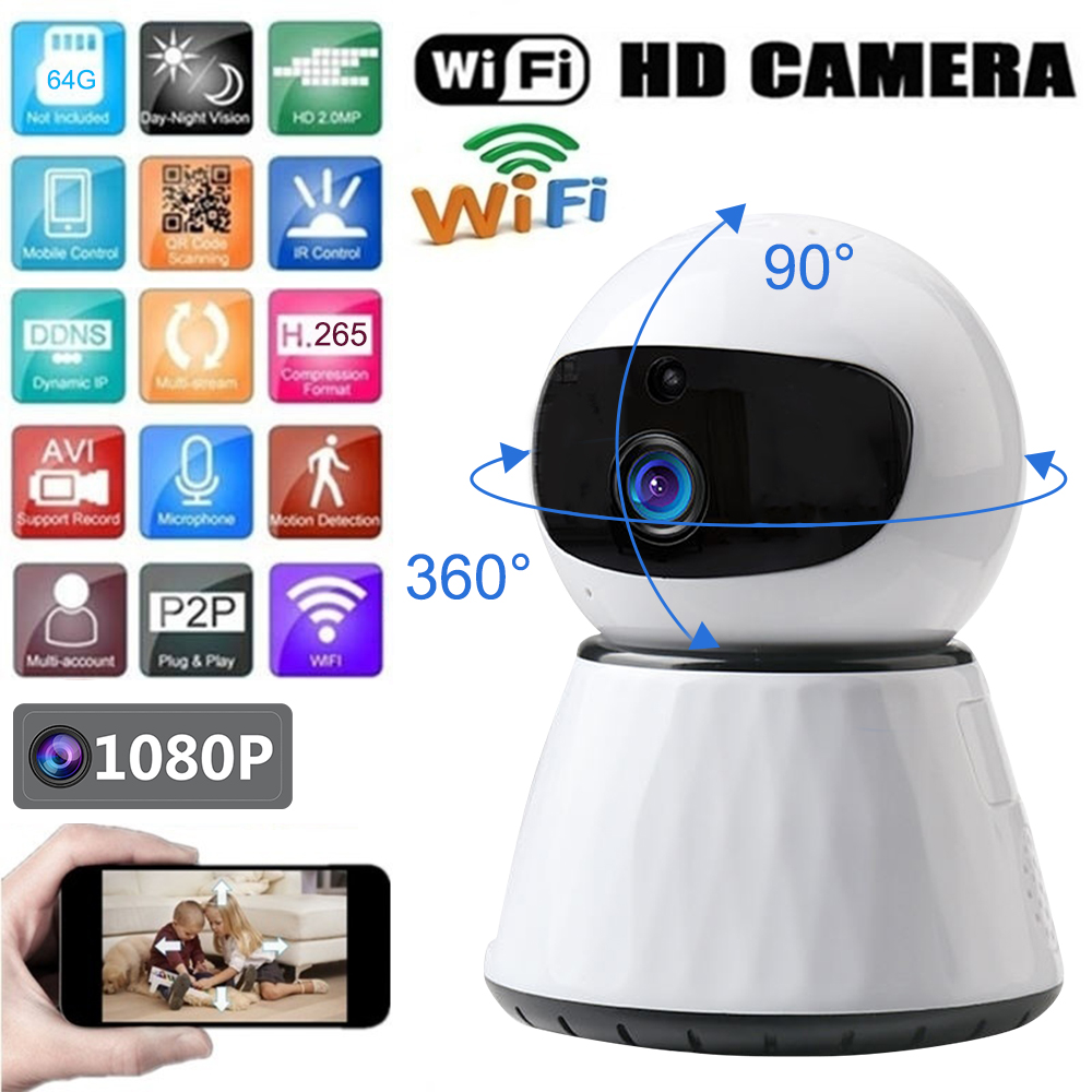 1080P Full HD Mini Baby Monitoring IP Camera WIFI Two Way Audio Night Vision Wireless video CCTV Camcorder Home Security Nanny