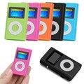 Популярный мини MP3-плеер с USB и ЖК-экраном, поддержка карт Micro SD и TF на 32 ГБ, красный, стильный дизайн, спортивный MP3, музыкальный, компактный, по...