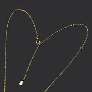 Image 5 - قلادة ANDYWEN عيار 925 من الفضة الإسترلينية والذهبية على شكل حرف M ، قلادة بحروف أبجدية بحروف أبجدية ، مجوهرات إكسسوارات نسائية لعام 2020