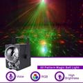 WUZSTAR диско-светильник DJ с 60 узорами Magic RG лазерный проектор RGB светодиодный вечерние праздничные бар Рождественский сценический светильник
