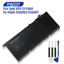 Оригинальная запасная батарея для dell xps 13 9360 d1605g d1705