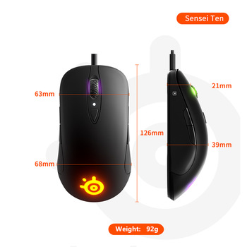 Steel Series Sensei Ten 10 Master E-game for  Lol Cable Mouse