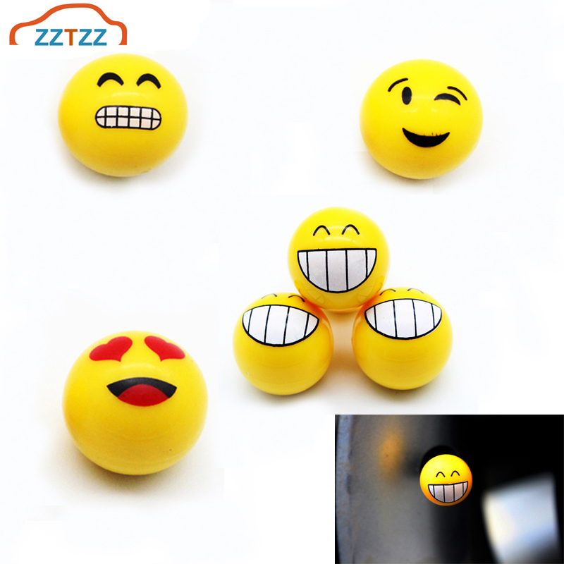4Pcs/lot Universal Moto Bike Car Tires Wheel Valve Cap Dust Covers Car Styling For Universal Cars Motorcycle Decorative
