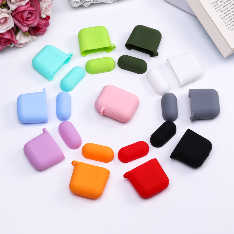 Earphone <font><b>Case</b></font> For <font><b>TWS</b></font> Soft Silicon Candy Color Wireless Bluetooth Headphones <font><b>Case</b></font> For <font><b>TWS</b></font> i9s i9 i10 <font><b>i11</b></font> i12 i13 i14 i15 Shell image