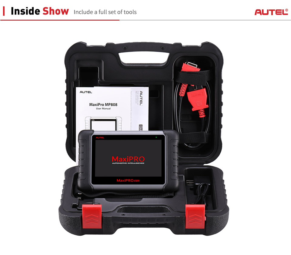 Image 5 - Autel MAXIDAS DS808 MP808 Diagnostic Scanner Tool OBD2 Scanner OBDII Automotive tools Update Autel DS708 as Autel MaxiSys MS906-in Car Diagnostic Cables & Connectors from Automobiles & Motorcycles