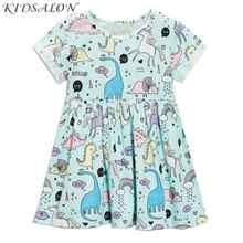 Vestido de verano de unicornio para niñas, ropa de Fiesta infantil, flamenco, Princesa, 2019