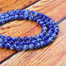 Emperor Natural Stone Bead Round Loose Spaced Beads 15 Inch Strand 4/6/8/10/12mm For Jewelry Making DIY Bracelet