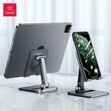 Xundd tablet stands para ipad pro caso ajustável dobrável ângulo de altura suporte do telefone para xiaomi iphone huawei samsung honra caso