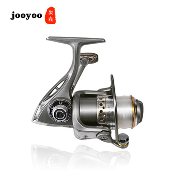 Metal Spool Spinning 1000 2000 3000 Series 5.0:1 5.1:1 Fishing Reel 5+1BB Wheel Gear Ratio Knob Handle Right Left Hand