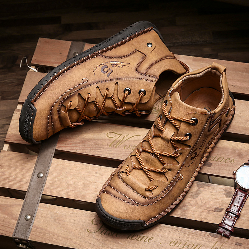 Hot Sale Winter Men Boots With Fur Snow Boots Lace Up Waterproof Footwear Male Casual Men shoes Outdoor Fashion New Big Size 48 image