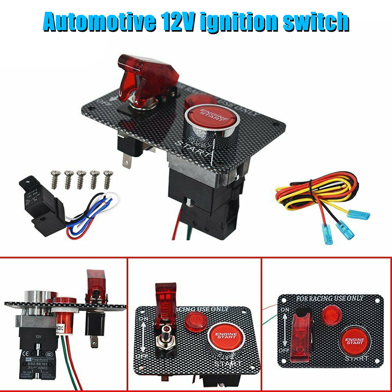 Hot Vehicle Ignition Starter Switch 12V Car Replacement Parts Accessories Modification M8617
