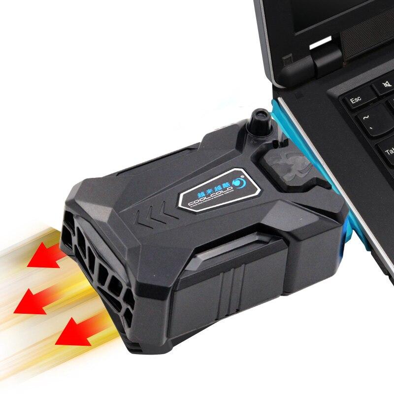 Высокая производительность всасывающего типа Внешний ноутбук кулер usb вентилятор турбины технология suporte para ноутбук вентиляционная охлаждающая подставка Охлаждающие подставки для ноутбуков      АлиЭкспресс