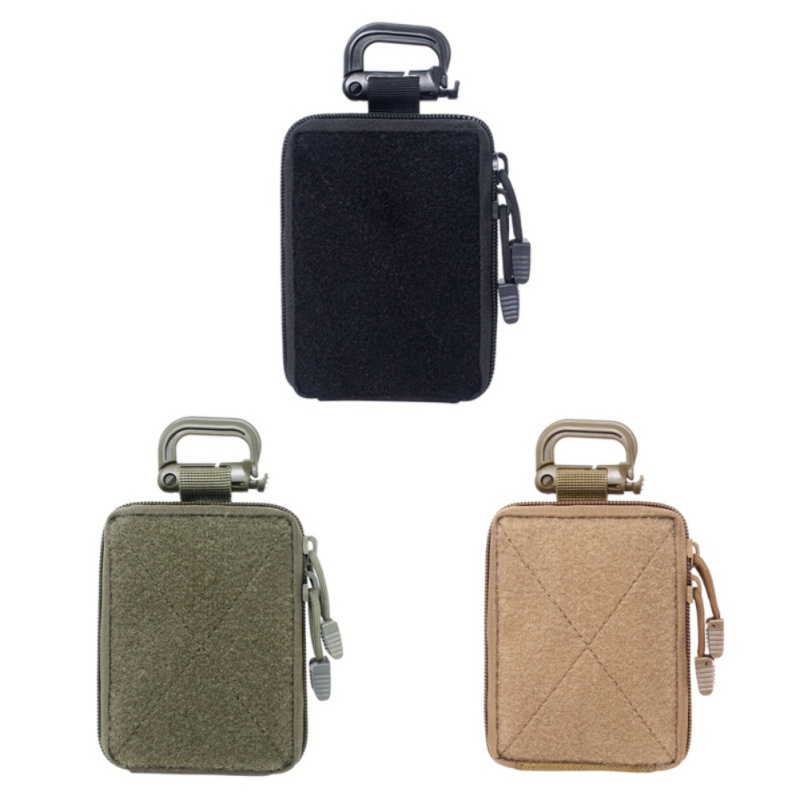 MOLLE BAG Tactical EDC Pouch Range Bag Medical Organizer Pouch Military Wallet Small Bag Outdoor Hunting Accessories Vest Equipm