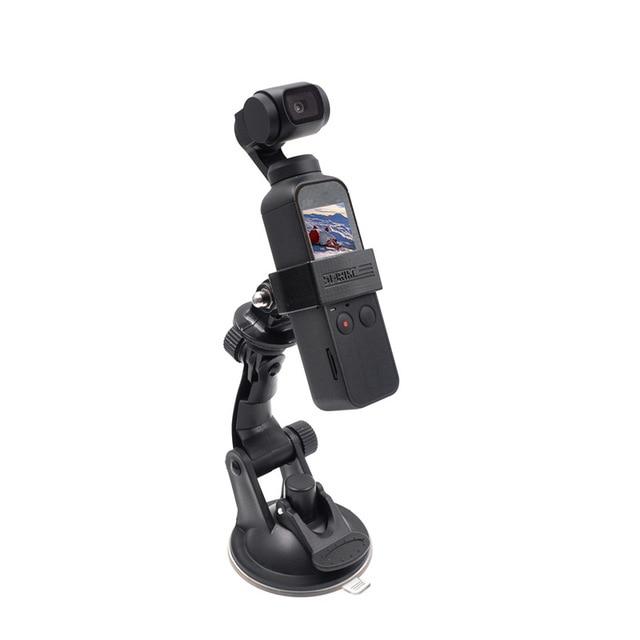 Araba vantuz osmo cep baz tutucu uyumlu spor aksiyon kameraları dji osmo cep kamera gimbal aksesuarları