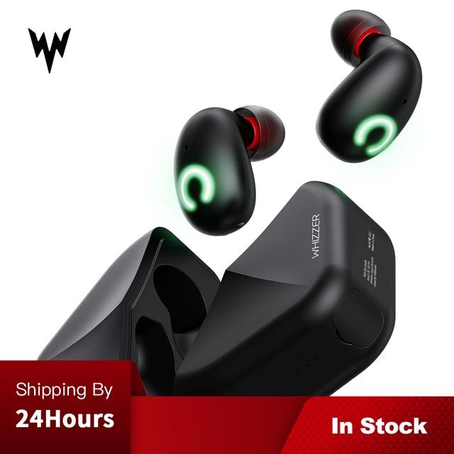 Whizzer B6 TWS Bluetooth 5,0 IPX7 resistente al agua actualización verdadera auriculares inalámbricos soporte Aptx/AAC 45h tiempo de reproducción para iOS/Android