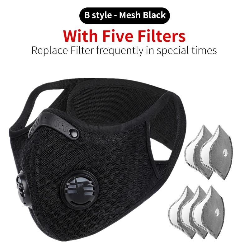 B Black 5 filters