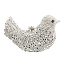 Hot Sale Women Clutch bags Luxury Evening Bags Sparkly Crystal Colorful Bird Pattern Ladies Dinner bag Clutches Purse beautiful flamingo crystal wedding clutch bags crystal clutches purse women evening bags ladies handbag