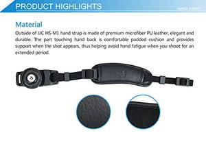 Image 4 - PU Leather Hand Strap Belt Camera Grip Wrist Quick Install For Canon EOS 250D 200D M6 Mark II RP R M50 M200 M100 M10 M5 M3 M2 M