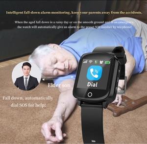 Image 3 - D200 D200SE ساعة يد ذكية بجهاز تتبع محدد لكبار السن النساء الرجال Smartwatch مع حماية سقوط معدل ضربات القلب ضغط الدم SOS