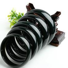 Hetian нефритовый браслет из натурального нефрита Moyu круглые браслеты атмосферный женский нефритовый браслет нефритовый ручной декор