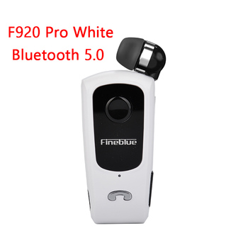Fineblue F920 Pro Mini Wireless Retractable Portable Bluetooth Headset Calls Remind Vibration Wear Clip Sports Running Earphone 8