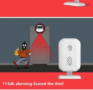 Image 3 - Darho אלחוטי פעמון בברכה IR אינפרא אדום motion חיישן מעורר 280M טווח חנות חנות דלת פעמון מגנטי פעמון