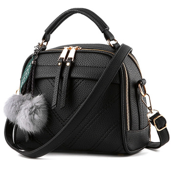 LANLOU Hairball Handbags