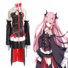 Anime Seraph Of The End Vampire Reign Cosplay Costumes Krul Tepes Cosplay Dresses Halloween Party Owari No Seraph Vampire Queen все цены