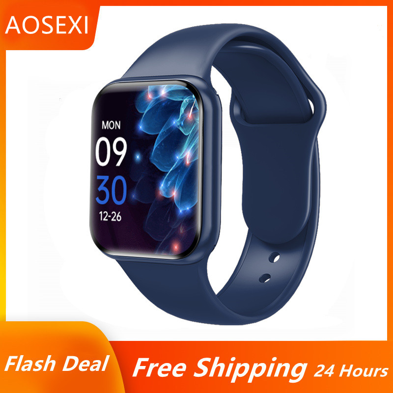 Смарт-часы для мужчин и женщин, сенсорный экран 1,57 дюйма, Bluetooth, пульсометр