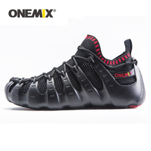 Onemix Original Autumn New Arrival Rome shoes indoor Yoga shoe Two-piece White Running sneakers Outdoor Sandal socks
