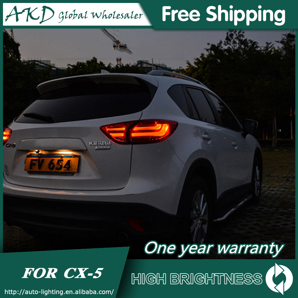 Tail Lamp For Car <font><b>Mazda</b></font> <font><b>CX</b></font>-<font><b>5</b></font> 2013-2017 CX5 Tail Lights Led Fog Lights DRL Daytime Running Lights Tuning Car Accessories image
