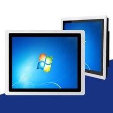 12,1 zoll Eingebettet kapazitiver touch Industrie Panel PC,4G RAM 32G SSD core J1800/i3/i5/i7 mini pc, wand-montiert halterung montage