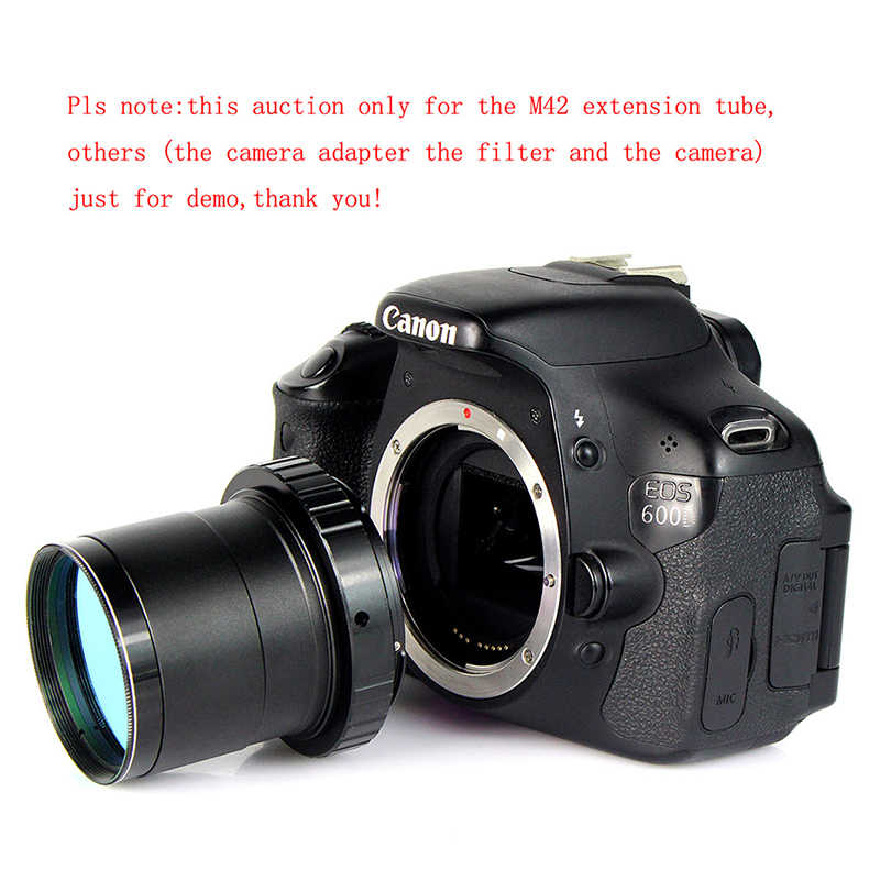 """SvBony 2 """"T2 M42 * 0.75 ด้ายกล้องโทรทรรศน์กล้องอุปกรณ์เสริมMount Macroแหวนยอมรับ 2"""" กรองMonocular Binocu"""