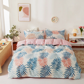 Simple Bedding Set Colorful Fern 18