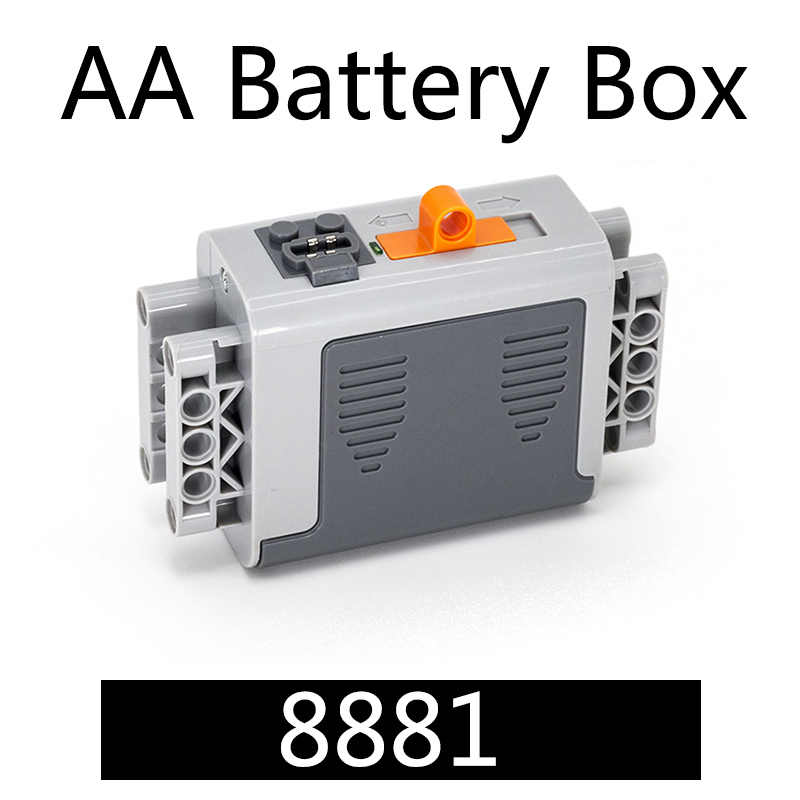 Teknik Bagian Motor Multi Fungsi Power Alat EV5 Servo Blok Kereta 8293 8883 PF Set Model Bangunan